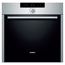 Buy Siemens HB64AB521B Single Electric Oven, Stainless Steel Online at johnlewis.com