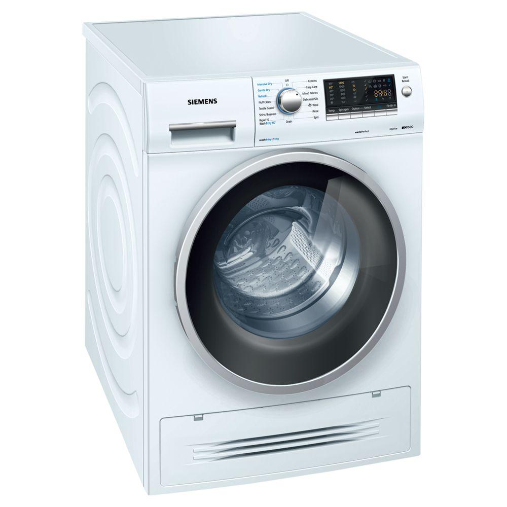 Siemens WD14H421GB iQ500 White 7kg Wash 4kg Dry Freestanding Washer Dryer