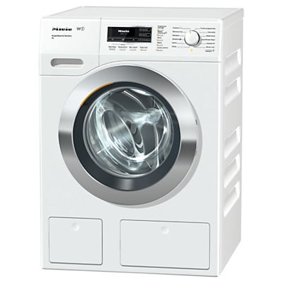 Miele WKR 770 WPS Freestanding Washing Machine, 9kg Load, A+++ Energy Rating, 1600rpm Spin, White