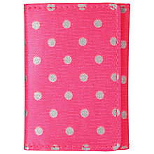 Buy Cath Kidston Little Spot Ticket Holder Online at johnlewis.com