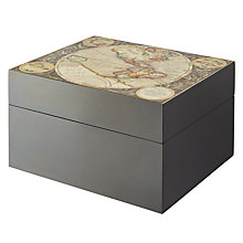 Buy John Lewis World Map Keepsake Box Online at johnlewis.com