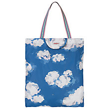 Buy Cath Kidston Foldaway Tote, Clouds Online at johnlewis.com