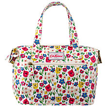 Buy Cath Kidston Paradise Small Zipped Handbag, Cream Online at johnlewis.com