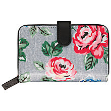 Buy Cath Kidston Folded Zipped Wallet, Rainbow Rose Online at johnlewis.com