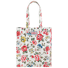 Buy Cath Kidston Rainbow Rose Book Bag, Chalk Online at johnlewis.com