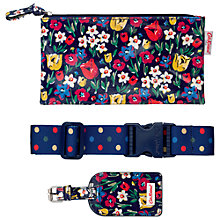 Buy Cath Kidston Paradise Travel Set, Indigo Online at johnlewis.com