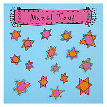 Buy Devora Mazel Tov Greeting Card Online at johnlewis.com