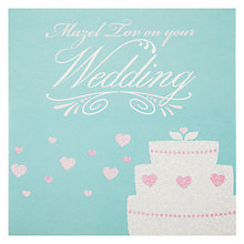 Buy Devora Mazel Tov Wedding Greeting Card Online at johnlewis.com