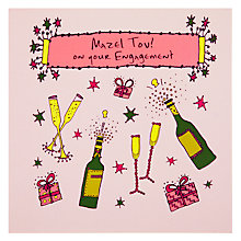 Buy Devora Mazel Tov Engagement Greeting Card Online at johnlewis.com