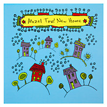 Buy Devora Mazel Tov New Home Greeting Card Online at johnlewis.com