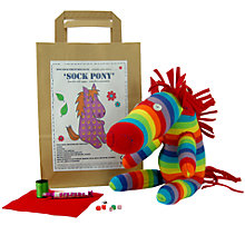 Buy Sock Creatures Sock Pony Online at johnlewis.com