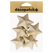 Buy Decopatch Christmas Stars, Pack of 5 Online at johnlewis.com