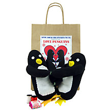 Buy Sock Creatures Sock Love Penguins Online at johnlewis.com