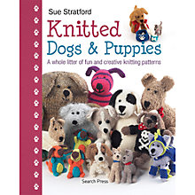 Buy Knitted Dogs And Puppies by Sue Stratford Knitting Book Online at johnlewis.com