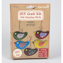 Buy Sass & Belle DYI Felt Hanging Birds Craft Kit, Multi Online at johnlewis.com