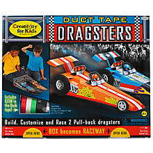 Buy West Designs Duct Tape Dragsters Online at johnlewis.com