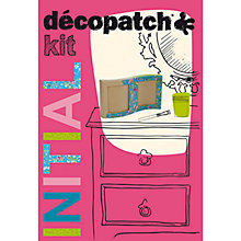 Buy Decopatch Initial Frame Craft Kit Online at johnlewis.com