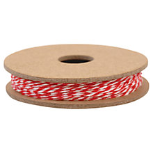Buy Red & White Baker's Twine, 12 Metres Online at johnlewis.com