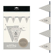 Buy East of India Bunting Kit 'To Have and to Hold', 3m Online at johnlewis.com