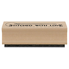 Buy Stitched With Love Craft Stamp Online at johnlewis.com