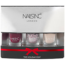 Buy Nails Inc. The Holiday Edit Gel Effect Collection Gift Set Online at johnlewis.com