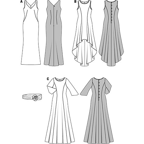 Evening Gown Patterns South Africa 71