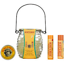 Buy Burt's Bees Honey Pot Bodycare Gift Set Online at johnlewis.com