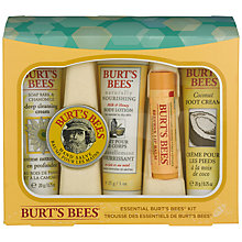 Buy Burts Bees Essential Burts Starter Kit Bodycare Gift Set Online at johnlewis.com
