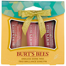 Buy Burt's Bees Endless Shine Trio Bodycare Gift Set Online at johnlewis.com