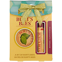 Buy Burt's Bees Bit Of Burts Pomegranate Bodycare Gift Set Online at johnlewis.com