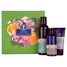 Buy Neal's Yard Remedies Refresh Geranium & Orange Organic Body Collection Online at johnlewis.com
