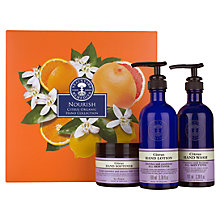 Buy Neal's Yard Remedies Nourish Citrus Organic Hand Collection Online at johnlewis.com