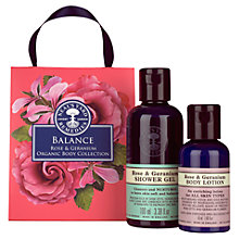 Buy Neal's Yard Remedies Balance Rose & Geranium Organic Body Collection Online at johnlewis.com