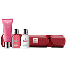 Buy Molton Brown Pink Pepperpod Christmas Cracker Body Care Gift Set Online at johnlewis.com