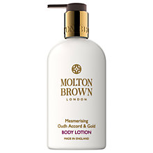 Buy Molton Brown Oudh Accord & Gold Nourishing Body Lotion, 300ml Online at johnlewis.com