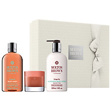 Buy Molton Brown Gingerlily Perfect Bathing Gift Set Online at johnlewis.com
