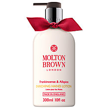 Buy Molton Brown Frankincense And Allspice Hand Lotion, 300ml Online at johnlewis.com