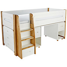 Buy Stompa Curve Mid-Sleeper, 3 Drawer Chest and Desk, 2 Doors Online at johnlewis.com