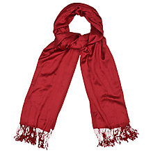 Buy Phase Eight Ellie Pashmina, Ruby Online at johnlewis.com