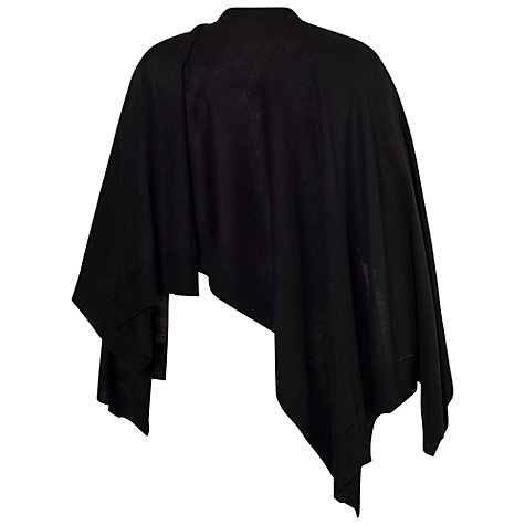 Buy Chesca Classic Bordered Wrap, Black Online at johnlewis.com