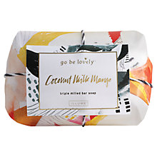 Buy go be lovely Large Coconut Milk Soap, 250g Online at johnlewis.com