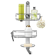 Buy simplehuman Adjustable Shower Caddy Online at johnlewis.com