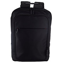 Buy John Lewis Commute Backpack, Black Online at johnlewis.com