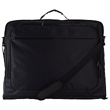 Buy John Lewis Commute Garment Carrier, Black Online at johnlewis.com