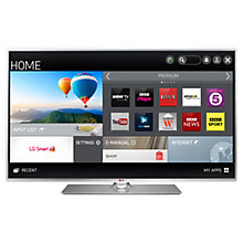 "Buy LG 50LB580V LED HD 1080p Smart TV, 50"" with Freeview HD with 3D Blu-ray Player Online at johnlewis.com"