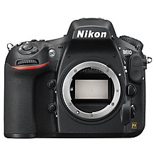 "Buy Nikon D810 Digital SLR Camera, HD 1080p, 36.3MP, 3.2"" LCD Screen, Body Only Online at johnlewis.com"