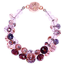 Buy Ted Baker Chelly Glass Crystal Bead Cluster Bracelet Online at johnlewis.com