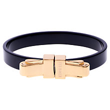Buy Ted Baker Kiah Gold Plated Bow Bangle Online at johnlewis.com