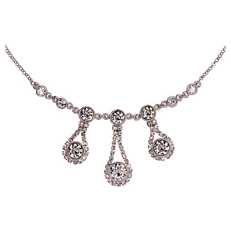 Buy Ted Baker Starley Crystal Drop Necklace Online at johnlewis.com