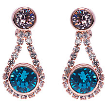 Buy Ted Baker Stormm Swarovski Crystal Bronze Plated Drop Earrings Online at johnlewis.com
